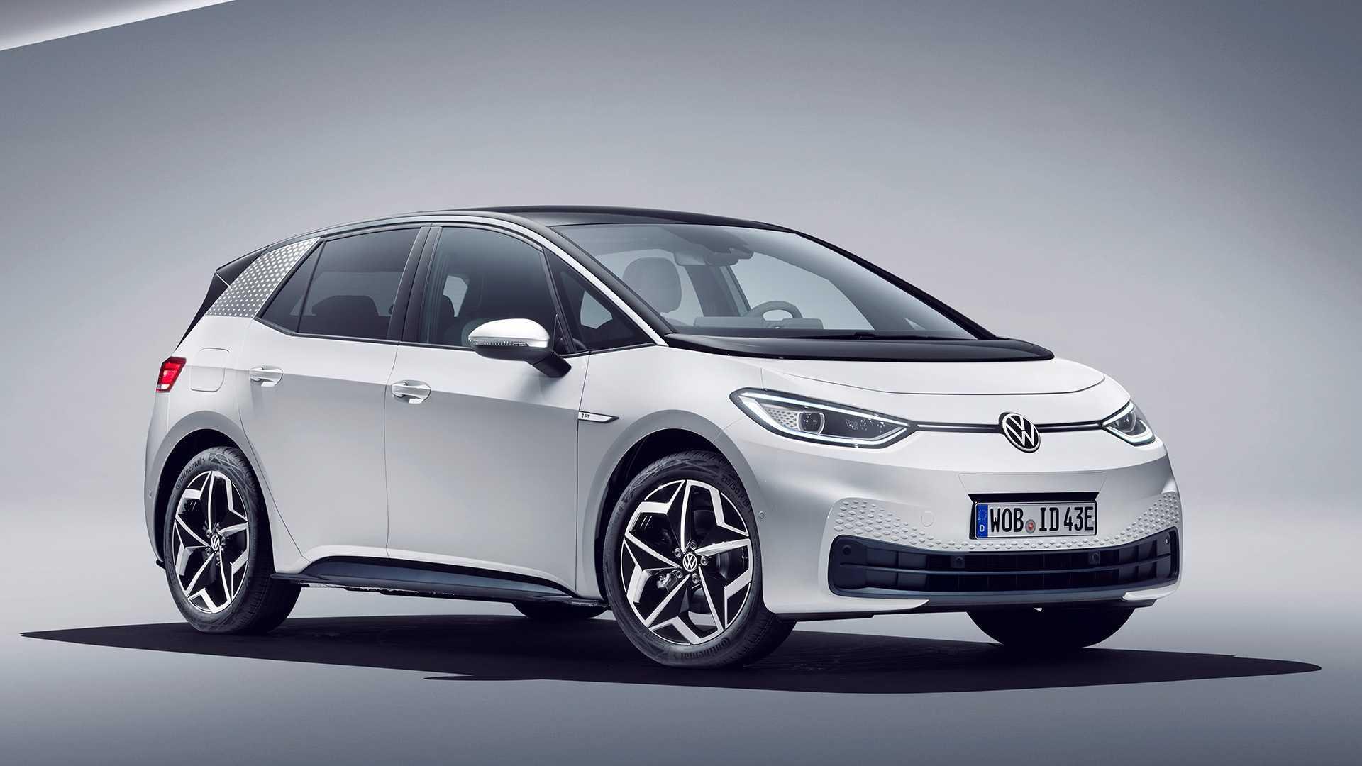 elektromobilis VW ID3